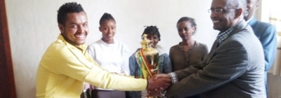 SMU Tesfa Female Football Club Won Trophy
