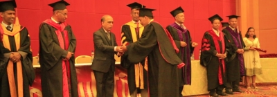 St. Mary's Hosts SMU-IGNOU Graduation Ceremony